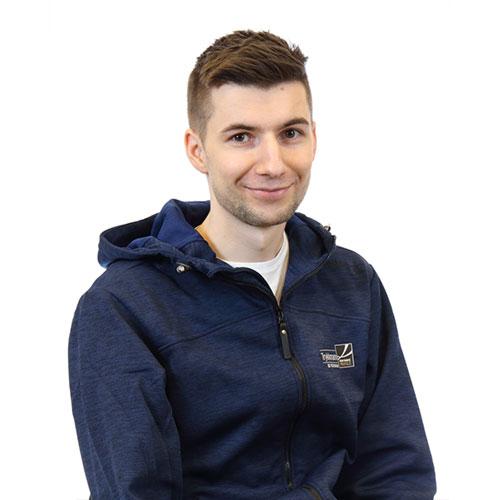 Sebastian Rasmussen - Produksjonsmedarbeider Trykkmann